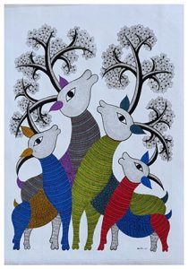 Deer Gond Tribal Art