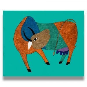 Cow Tribal Painting