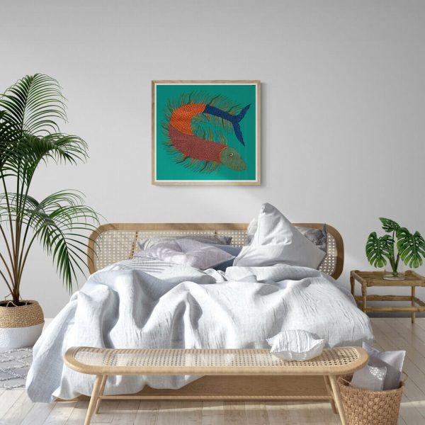 Fish Acrylic Painting