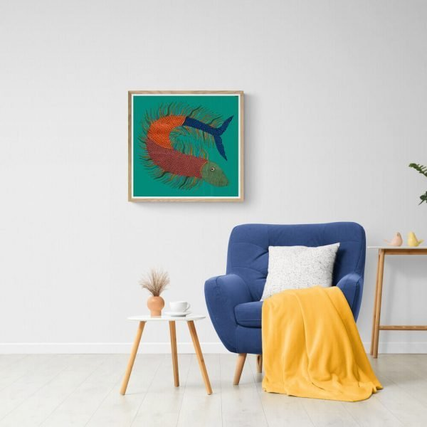 Fish Canvas Painting