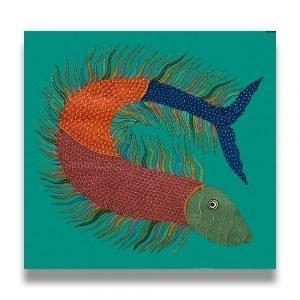Fish Tribal Decor