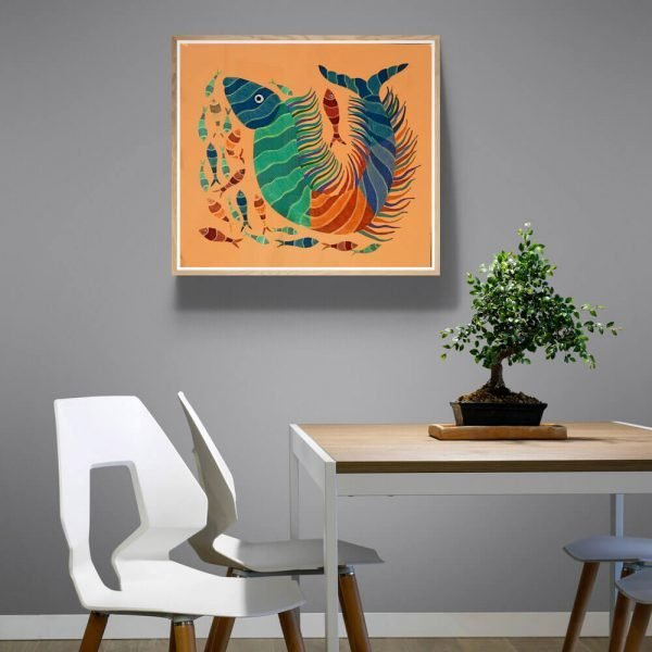 Marine life Canvas Painting