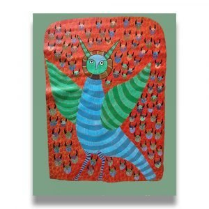 Owl Acrylic Painting 1