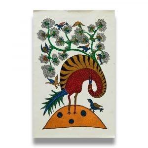 Wild Bird Acrylic Painting 2
