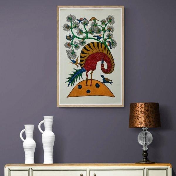 Wild Bird Canvas Painting