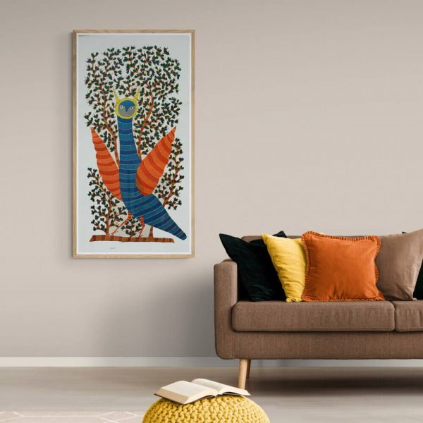 Wild Owl Canvas Painting