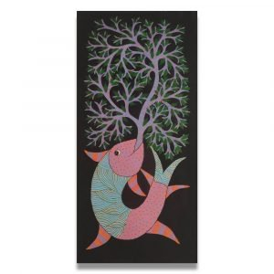 Fish Gond Art