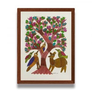 Animals in the Wild Framed Painting