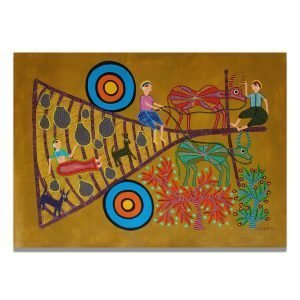 Bullock Card and Tribal people