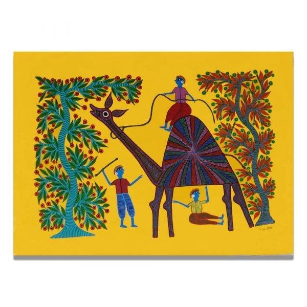 Camel ride Pithora Art