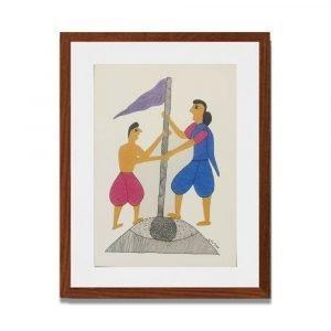 Festival Celebration Painting