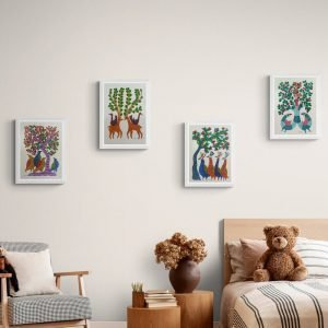 Four Painting Home Decor
