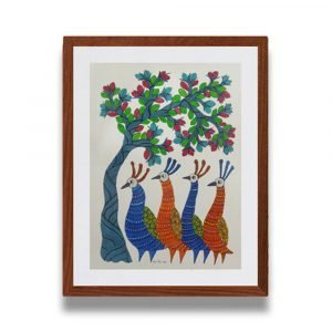 Group of Birds Painting