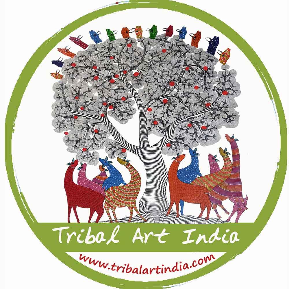 tribal art india