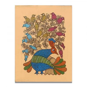 Cheerful Birds Wall Painting